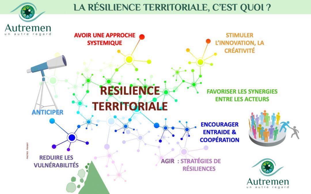 Le sujet de la résilience territoriale est un sujet général qui s'impose comme le moyen de traverser les crises successives.