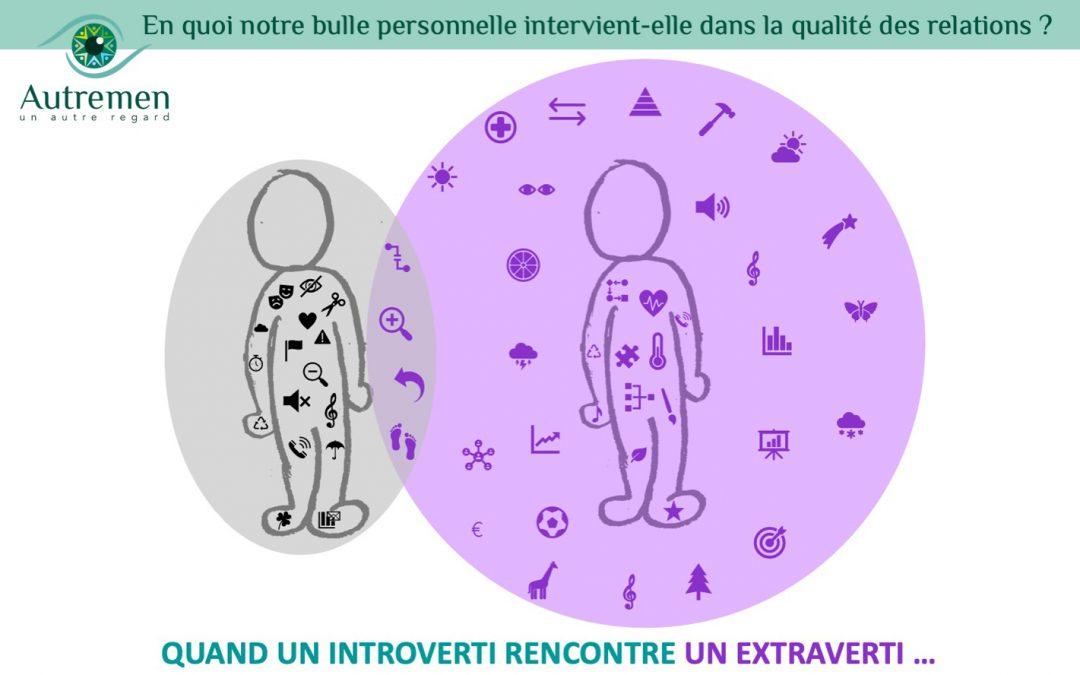 En quoi notre bulle personnelle intervient-elle dans la qualité des relations?